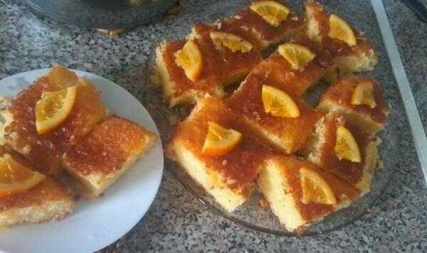 Μυρωδάτη Πορτοκαλόπιτα Greek Orange Phyllo Pie