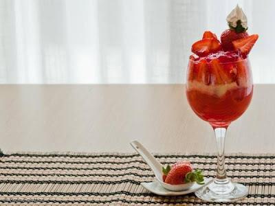 gelatina com creme de maizena