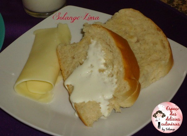 Pão fofinho caseiro