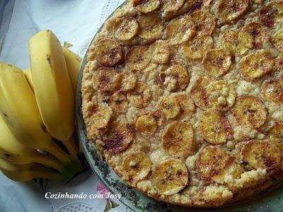 Torta de Banana - BC Comer para Viver Melhor