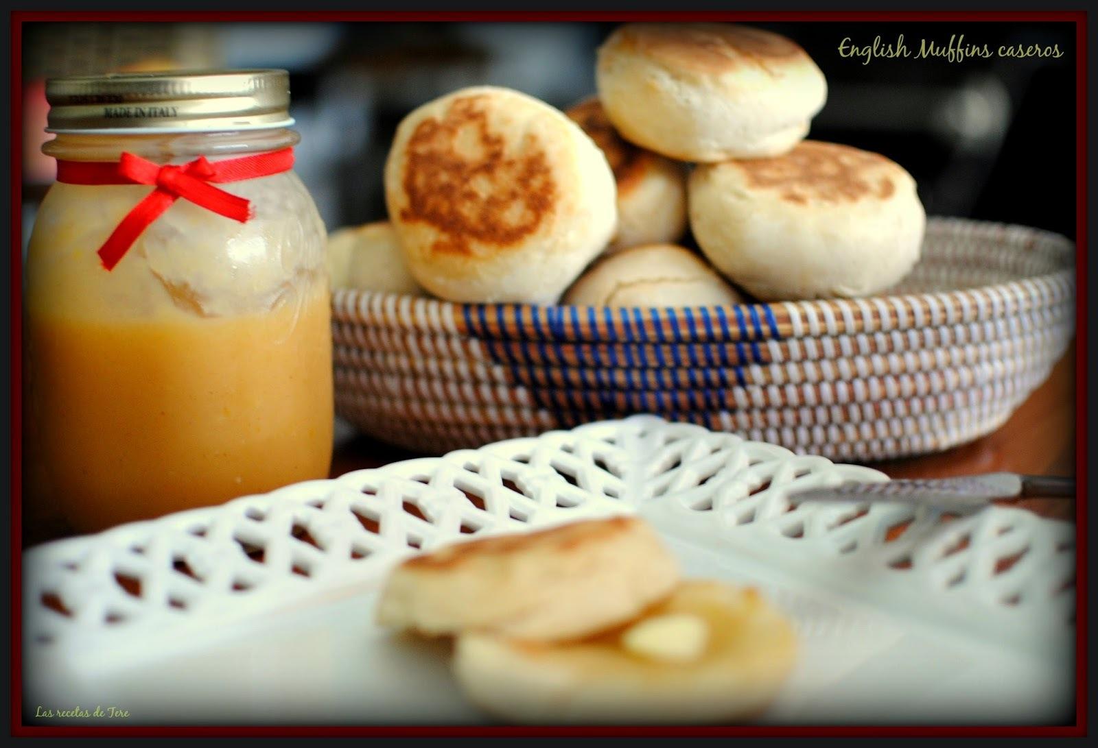 Deliciosos English muffins caseros.