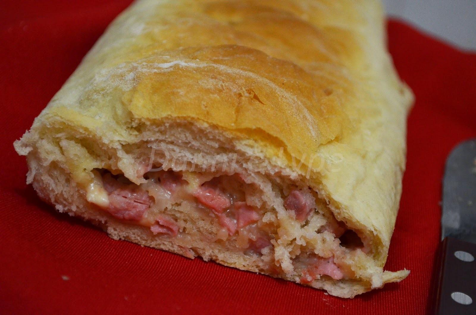 Pão de Linguiça de Frango