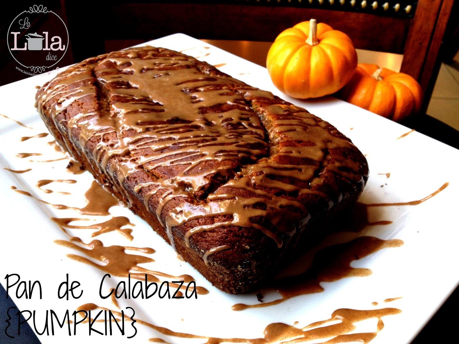 Pan de Calabaza de Castilla, mejor conocida como PUMPKIN
