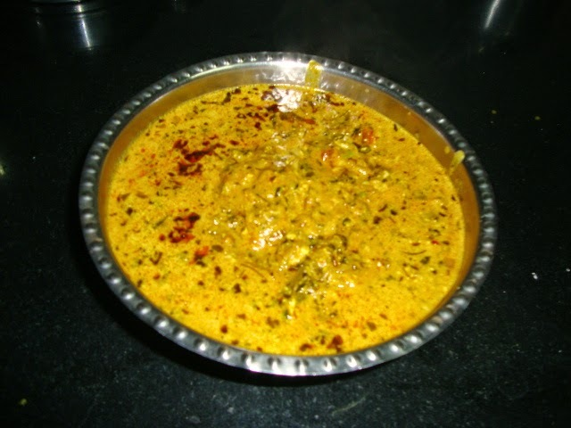 Moghalai Paneer Curry