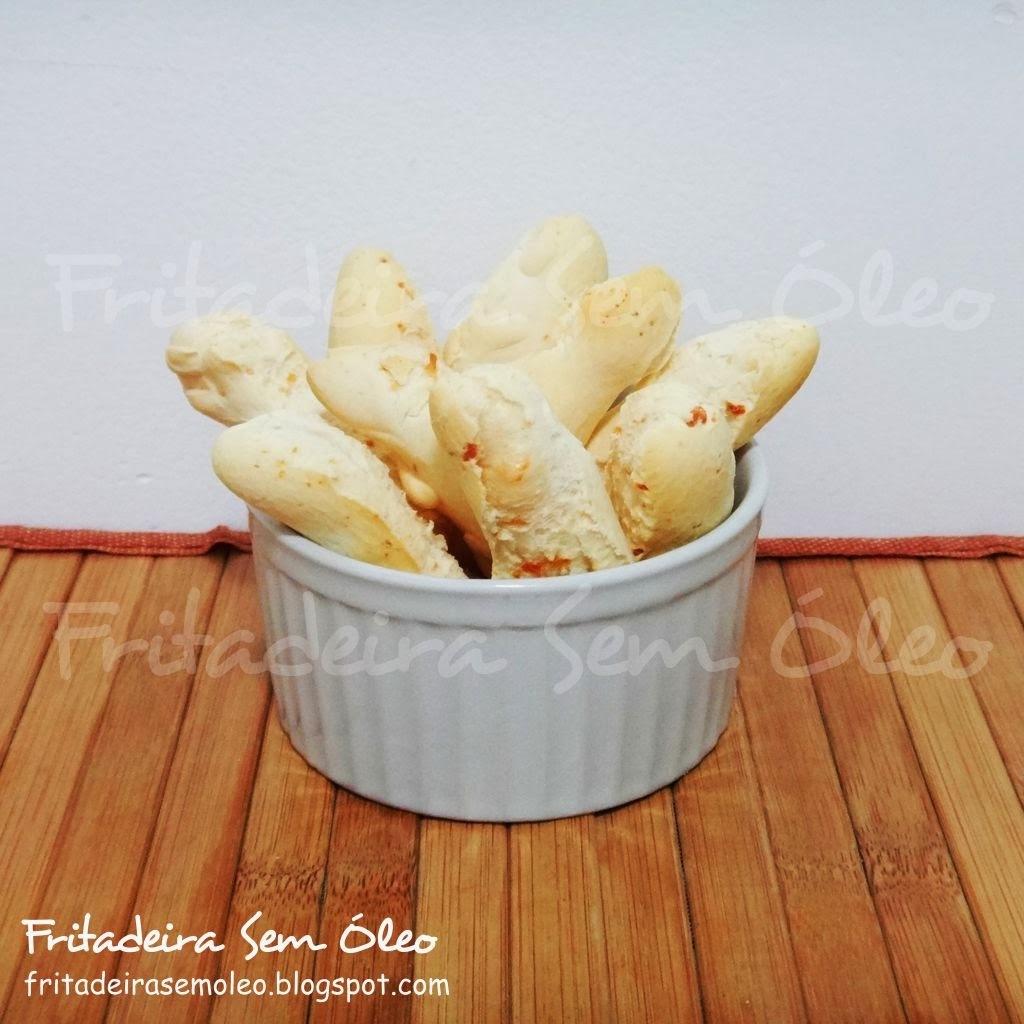 Biscoitos de Polvilho na AirFryer