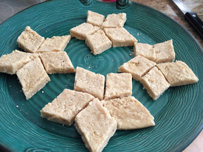 Kaaju Barfi - Cashew Fudge - Sweet Welcome to Kavin