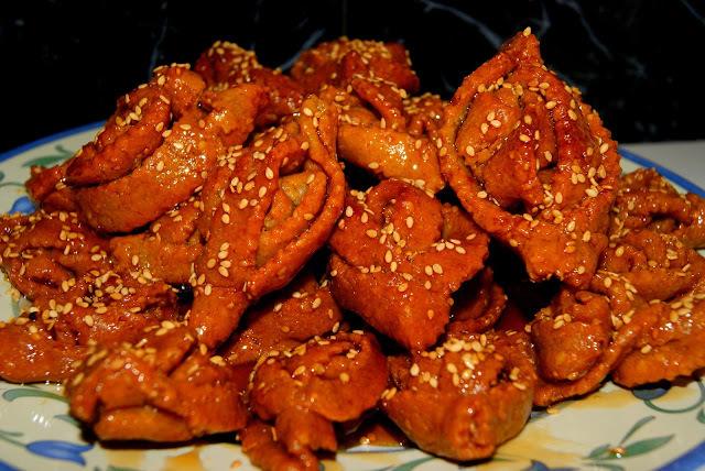 Chebakia (Dulce marroqui)