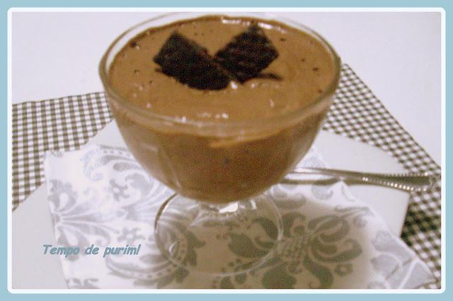 Mousse de chocolate clássica