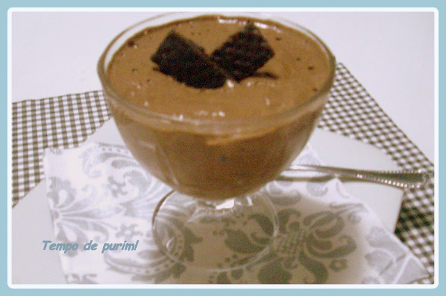 Mousse de chocolate clássica