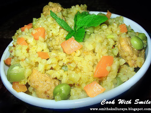 BROKEN WHEAT / DALIA - VEGETABLE UPMA