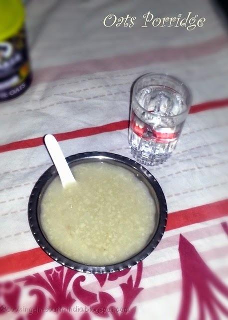 Healthy Oats Porridge Recipe | Oats Kanji
