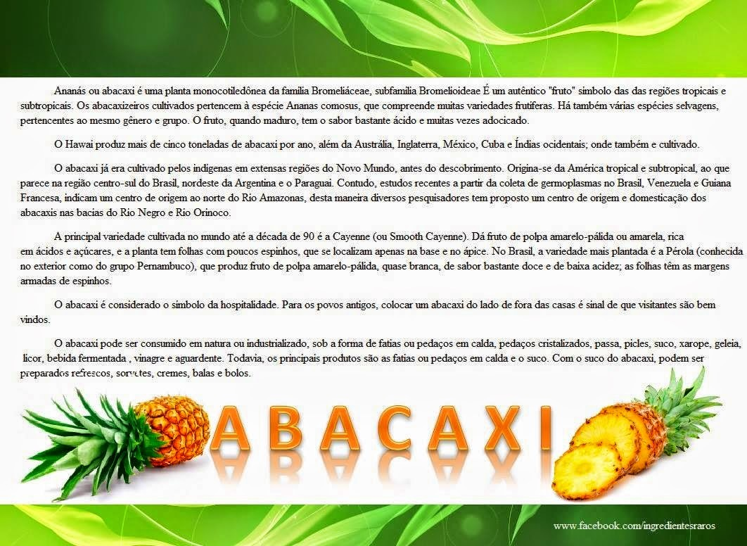 Dica: Abacaxi