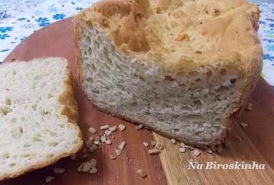 Pão Rápido Sem Glúten e Sem Lactose