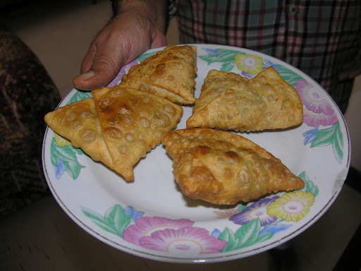 Baked Samosas( less oily, low calory snack)