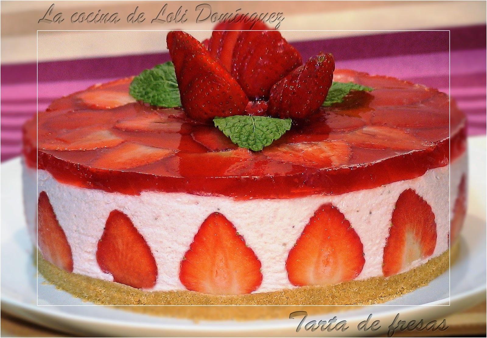 Tarta de fresas