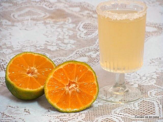 Limonada de limão rosa