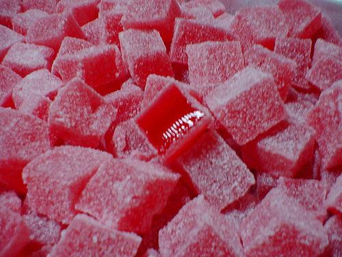 balas de gelatina agar agar