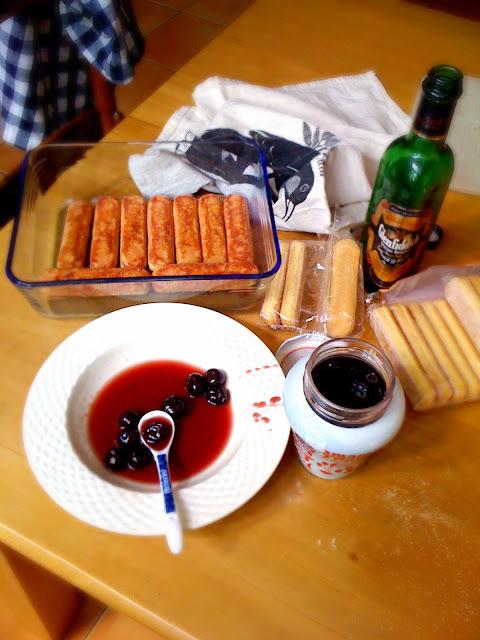 Tiramisù with Amarena cherries
