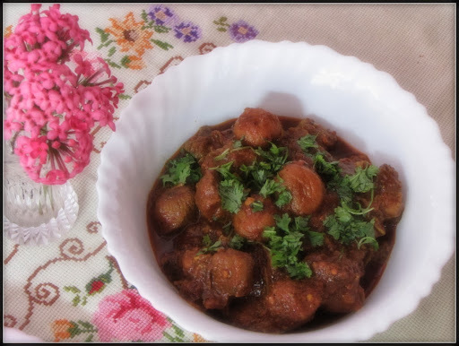 Mutton Curry With Apricots