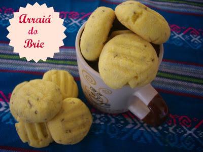 Arraiá do Brie - Biscoitinhos de Fubá