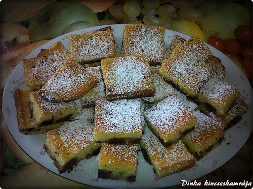 Csokis- meggyes süti