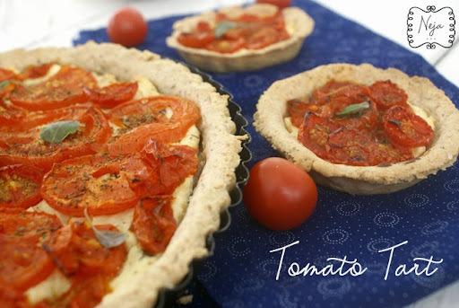 Tomato tart / Paradižnikova pita
