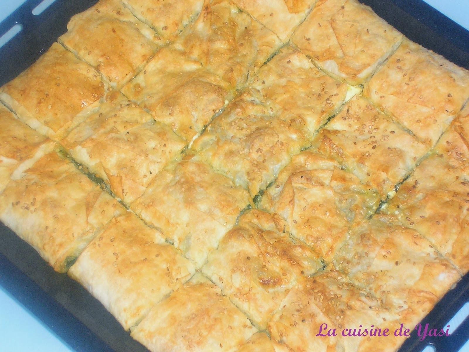 preparation pate à yufka turc