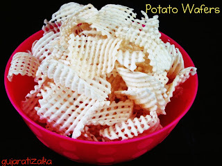 Potato Wafers – Home made potato wafers recipe