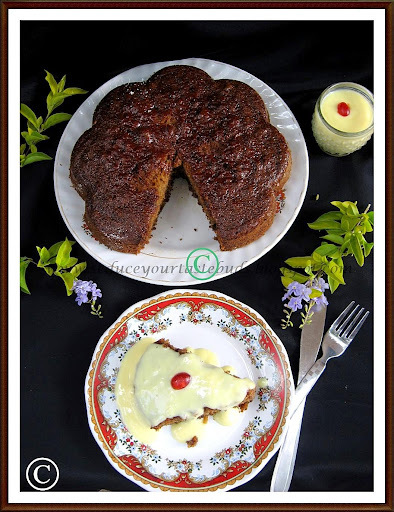 Dates Cake [No Egg/  Milk / Butter!!]