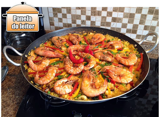 Panela do Leitor: Paella