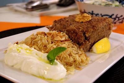 arroz com macarrão cabelo de anjo e amendoas