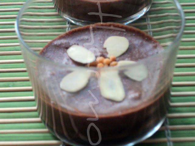Mousse de chocolate * Cumpleaños de Javier!