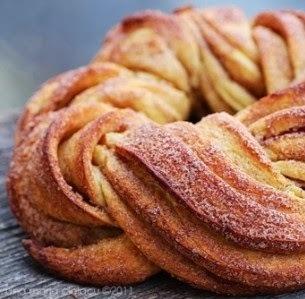 Pão Grinalda de Canela