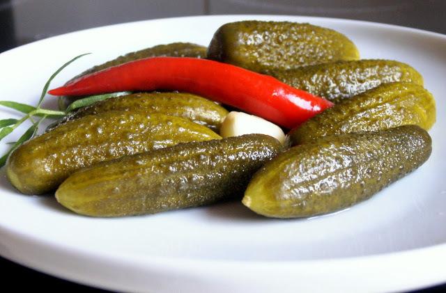 Sós uborka - eredeti orosz recept
