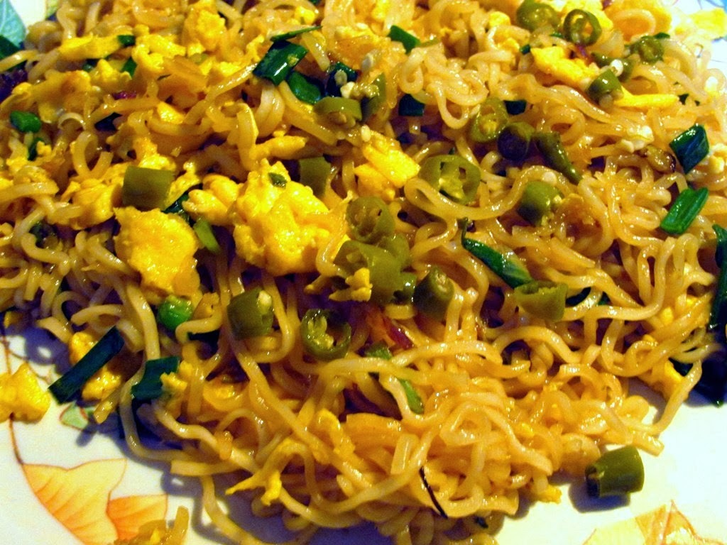 New Year and a Recipe for Yam Mien