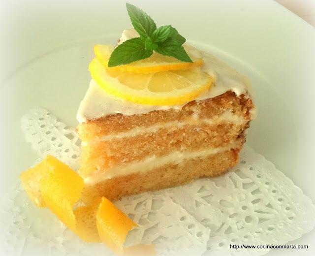 Pastel de limón