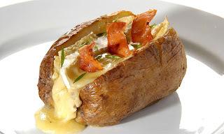 Receita de batata recheada