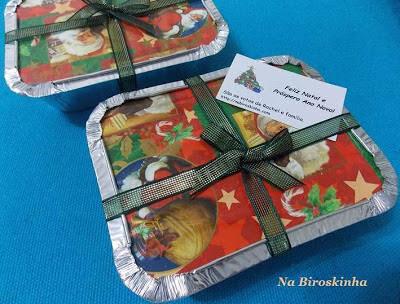 Palha Italiana Turbinada e Presentes de Natal