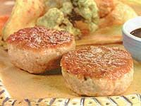 hambúrguer de atum fresco