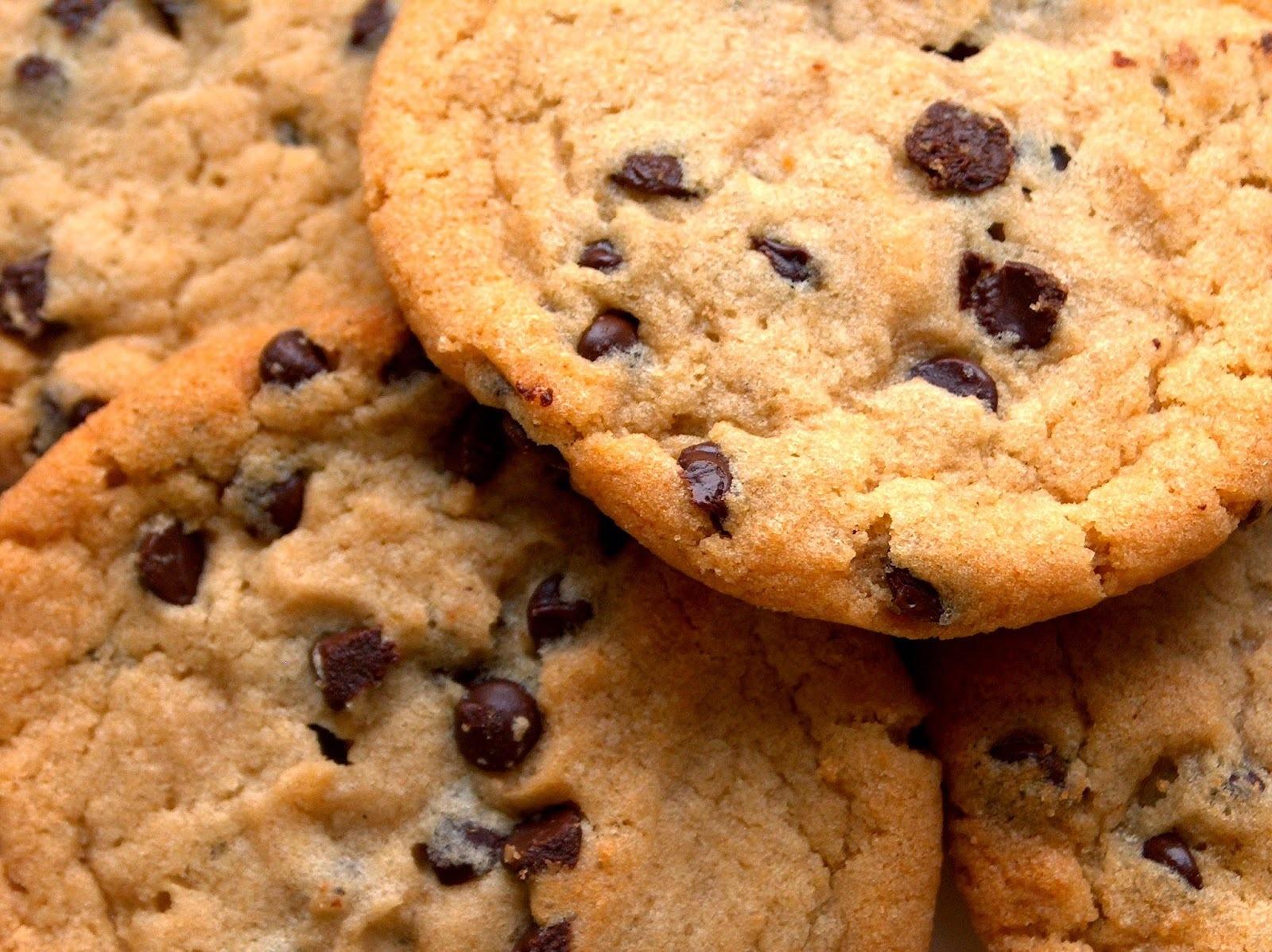 Como fazer Cookies de mercado com gotas de chocolate