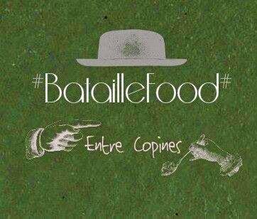 Bataille Food #13 : Gâteau de crêpes au cidre { fraises basilic & chantilly mascarpone }