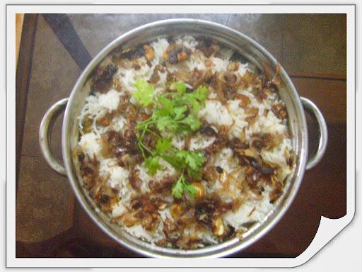 Chicken Biriyani -Kerala style