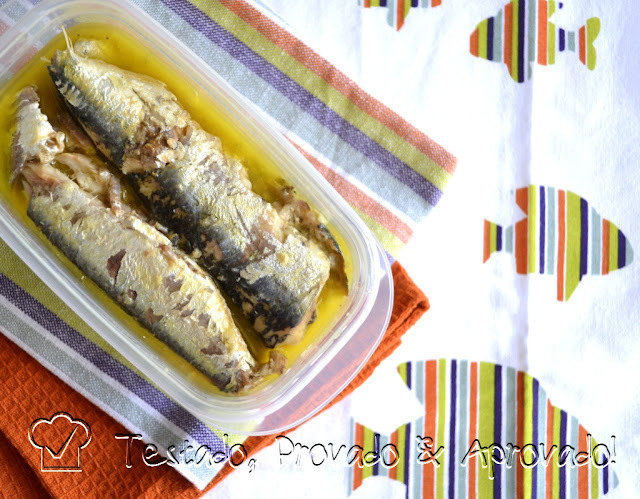 como fazer para congelar sardinha