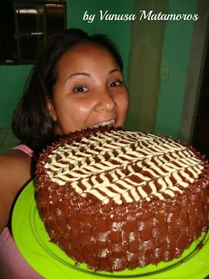 Torta Mousse de maracujá: Vanusa Matamoros
