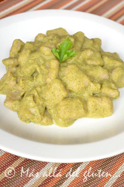Ñoquis con Salsa de Brócoli (Receta GFCFSF, Vegana)