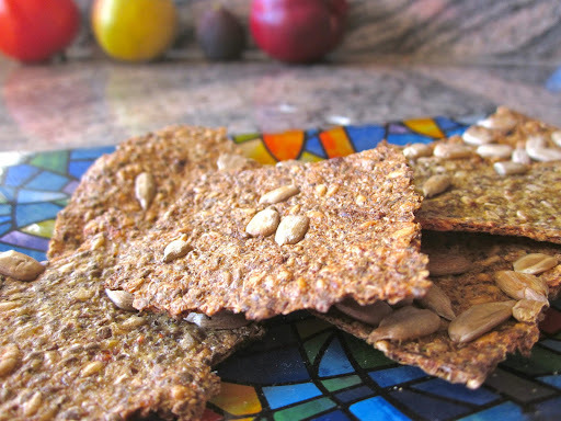 Quinoa Crackers
