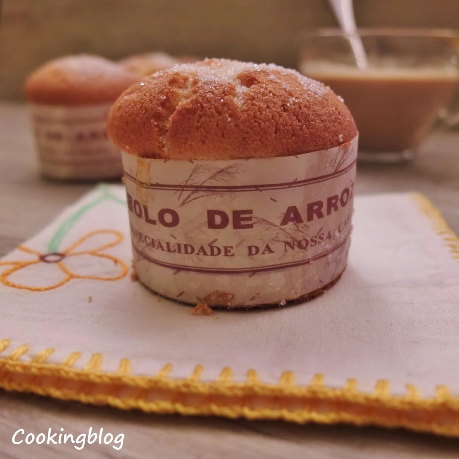Bolos de arroz | Portuguese Rice Muffins