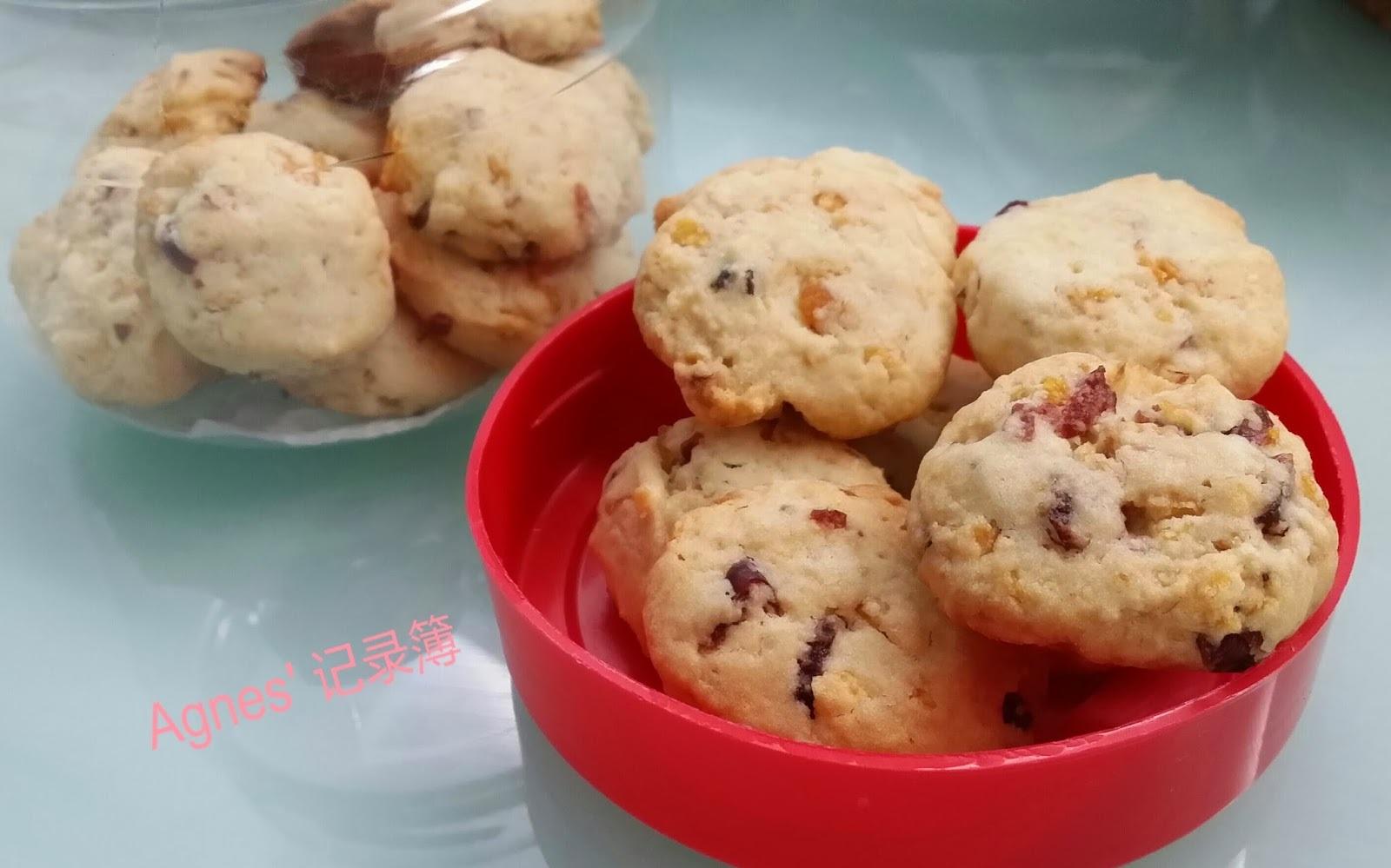 年饼~蔓越莓玉米片香脆饼干
