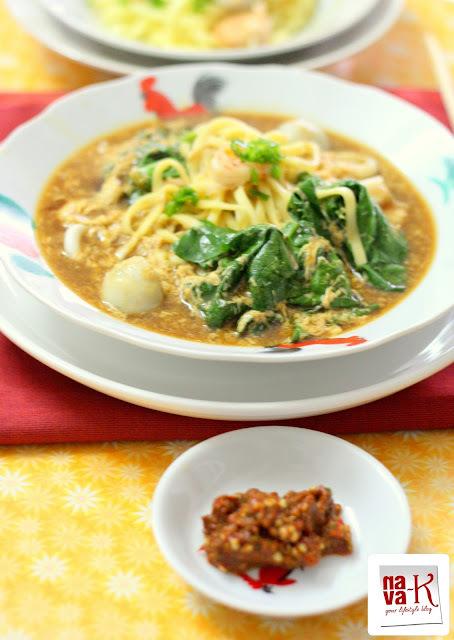 Lam Mee With Sambal Belacan