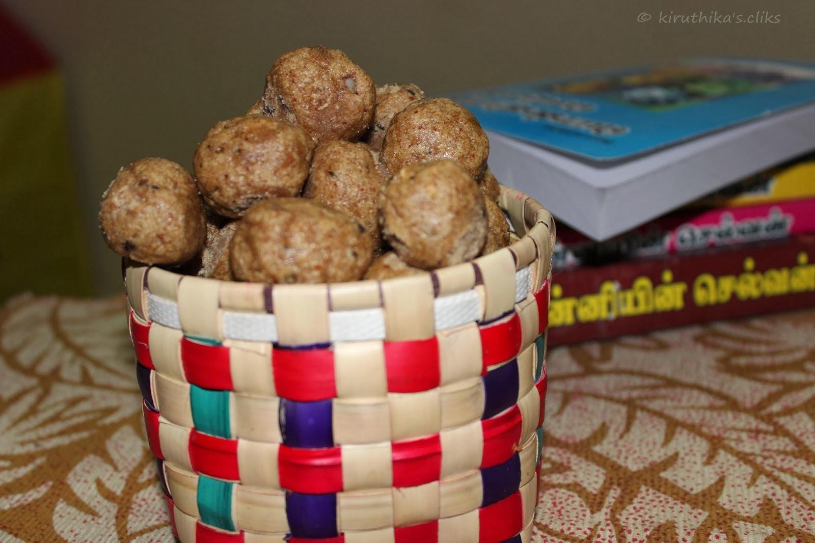 Sathu Maavu Kozhukattai / Nutritious Multigrain Dumpling